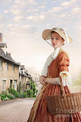 Poster featuring the photograph Georgian Period Woman by Lee Avison