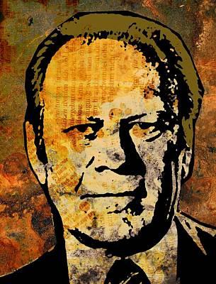 Gerald Ford Poster by Otis Porritt