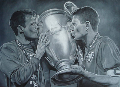 Poster featuring the painting Gerard An Carragher by David Dunne