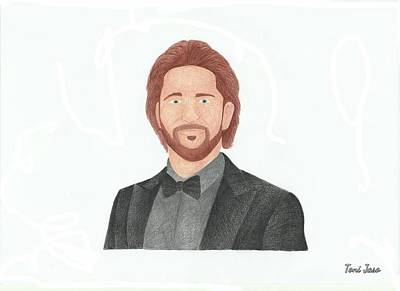 Gerard Butler Poster by Toni Jaso