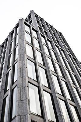 German Building Poster by Tom Gowanlock