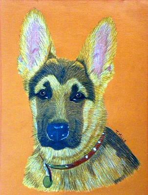 German Shepherd Dog Poster by Terri Mills