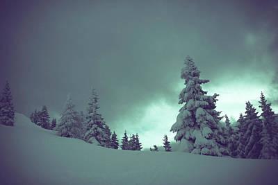 German Winter Landscape Poster
