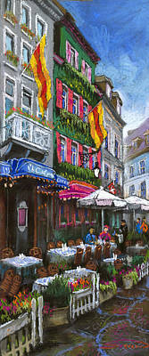 Germany Baden-baden 10 Poster by Yuriy  Shevchuk