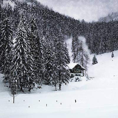 Germany Bavarian Winter's Tale Ix Poster by Melanie Viola