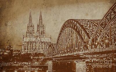 Germany Bridge 0401 Poster by Gull G