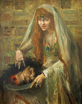 Gertrud Eysoldt As Salome Poster
