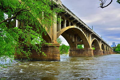 Poster featuring the photograph Gervais Street Bridge by Lisa Wooten