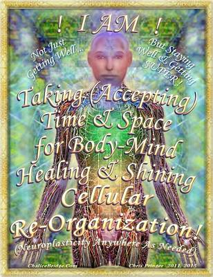 Poster featuring the digital art Getting Super Chart For Affirmation Visualization V2 by Christopher Pringer