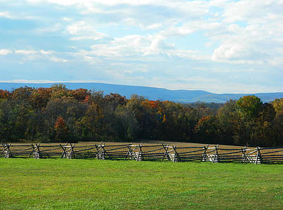 Poster featuring the photograph Gettysburg Battlefield And Beyond by Emmy Marie Vickers