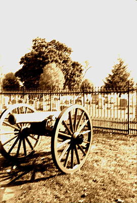 Gettysburg Cannon Poster