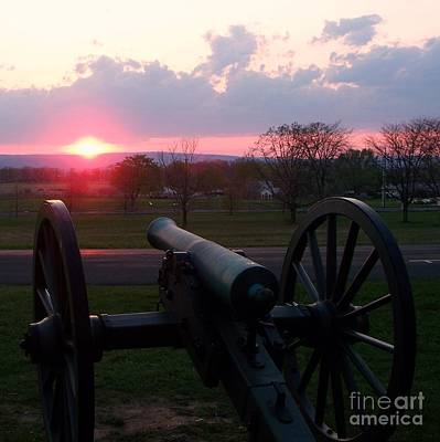 Gettysburg Cannon Poster by Eric  Schiabor