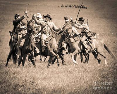 Gettysburg Cavalry Battle 7948s  Poster
