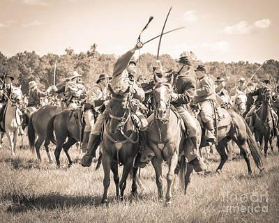 Gettysburg Cavalry Battle 7992s  Poster