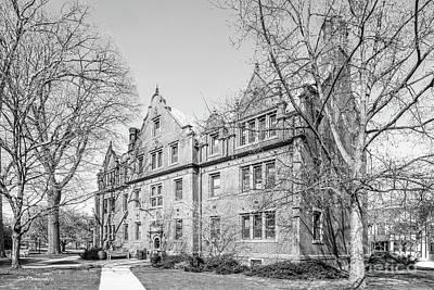 Gettysburg College Mc Knight Hall Poster