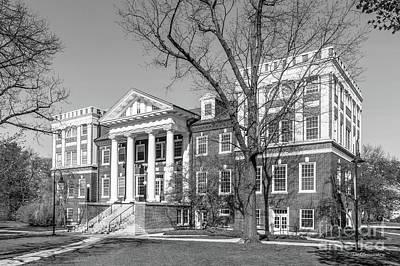 Gettysburg College Weidensall Hall Poster