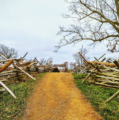 Gettysburg Horse Trail Poster by Paul Kercher