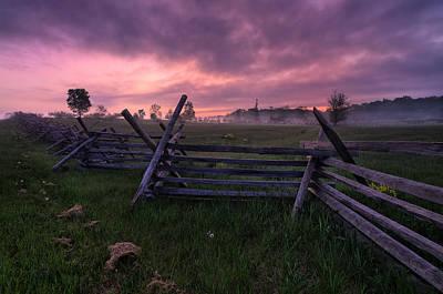 Gettysburg Mornings... Poster