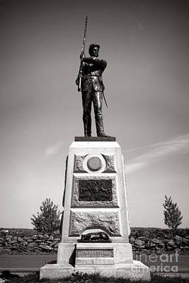 Gettysburg National Park 11th Pennsylvania Infantry Monument Poster