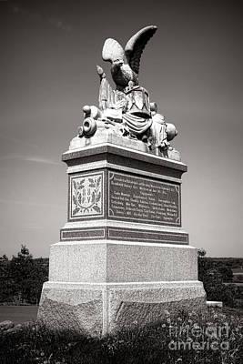 Gettysburg National Park 88th Pennsylvania Infantry Monument Poster
