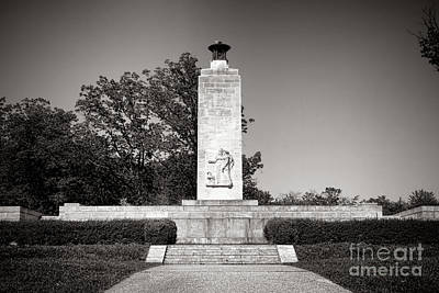 Gettysburg National Park Eternal Light Peace Monument Poster by Olivier Le Queinec