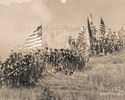 Gettysburg Union Infantry 8948s Poster