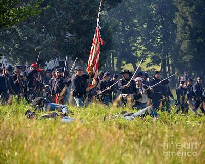 Gettysburg Union Infantry 9348c Poster