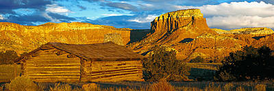 Ghost Ranch At Sunset, Abiquiu, New Poster by Panoramic Images