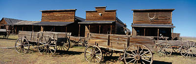 Ghost Town, Cody, Wyoming Poster by Panoramic Images