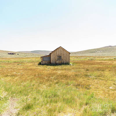 Ghost Town Of Bodie California Dsc4408sq Poster by Wingsdomain Art and Photography