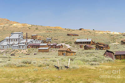 Ghost Town Of Bodie California Dsc4415 Poster by Wingsdomain Art and Photography