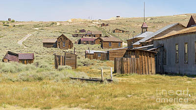 Ghost Town Of Bodie California Dsc4427 Poster by Wingsdomain Art and Photography
