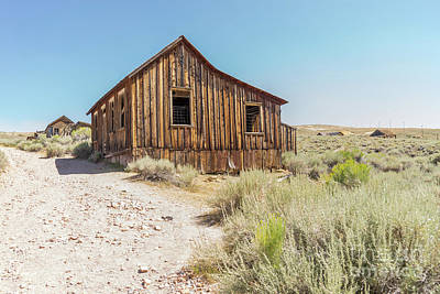 Ghost Town Of Bodie California Dsc4444 Poster