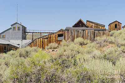 Ghost Town Of Bodie California Dsc4451 Poster by Wingsdomain Art and Photography