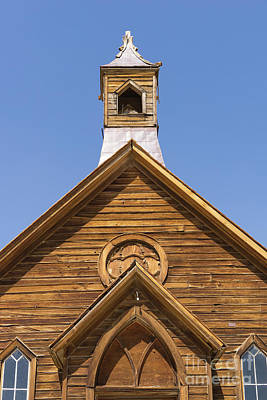 Ghost Town Of Bodie California Methodist Church Dsc4350 Poster by Wingsdomain Art and Photography