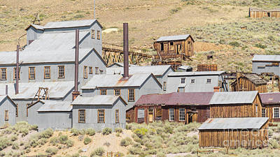 Ghost Town Of Bodie California Standard Stamp Mill Dsc4416 Poster by Wingsdomain Art and Photography