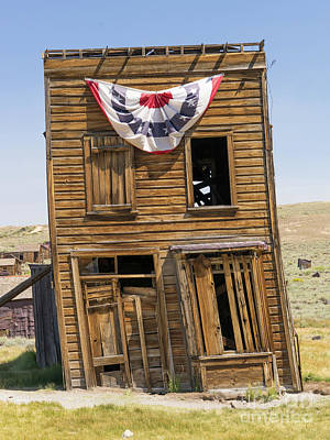 Ghost Town Of Bodie California Swasey Hotel Dsc4371 Poster by Wingsdomain Art and Photography