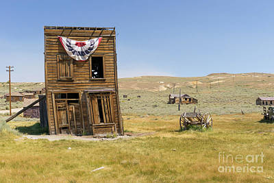 Ghost Town Of Bodie California Swasey Hotel Dsc4374 Poster