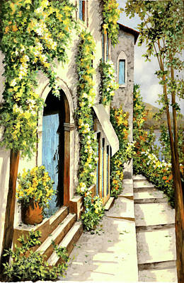 Giallo Limone Poster by Guido Borelli