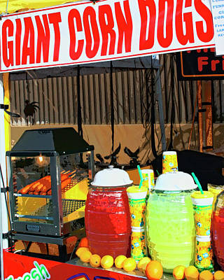 Giant Corn Dogs Poster