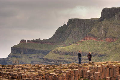 Poster featuring the photograph Giants Causeway by Ian Middleton
