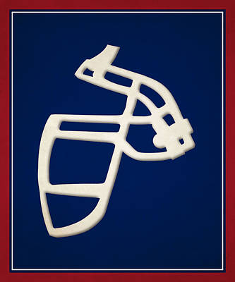 Giants Face Mask Poster