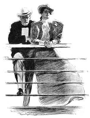 Gibson: Couple, 1897 Poster