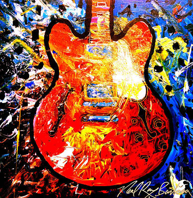 gibson ES-335 Poster