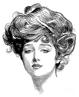 Gibson: Gibson Girl, 1900 Poster