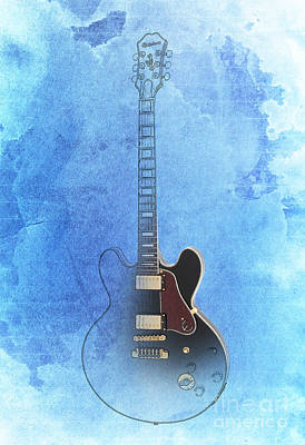 Gibson Lucille Guitar Poster