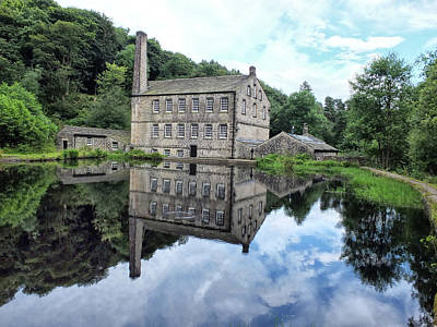 Gibson Mill - Hardcastle Crags Poster by Philip Openshaw