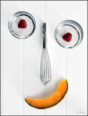Giddy In The Kitchen Poster by Joe Bonita