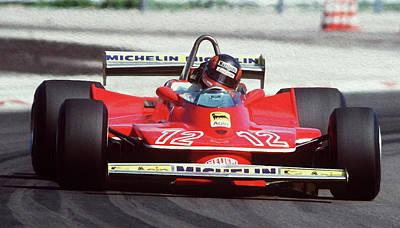 Gilles Villeneuve, Ferrari Legend - 01 Poster