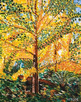 Gingko Tree Poster